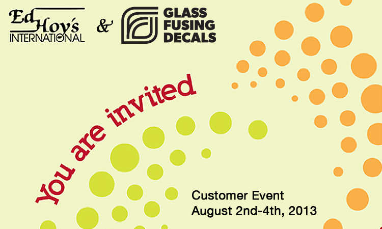 You're invited! Visit our launch at the Ed Hoy's International Customer Event this August!